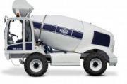 TS FIORI DBX35 önjáró és önrakodó betonkeverő