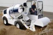 TS FIORI DB X10 önjáró és önrakodó betonkeverő