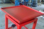 400x400 vibróasztal