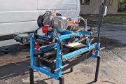 SR 230-300 emelhető magasságú robbanó motoros, kézi sorozatvágó, tégla szeletelő, lapkavágó gép